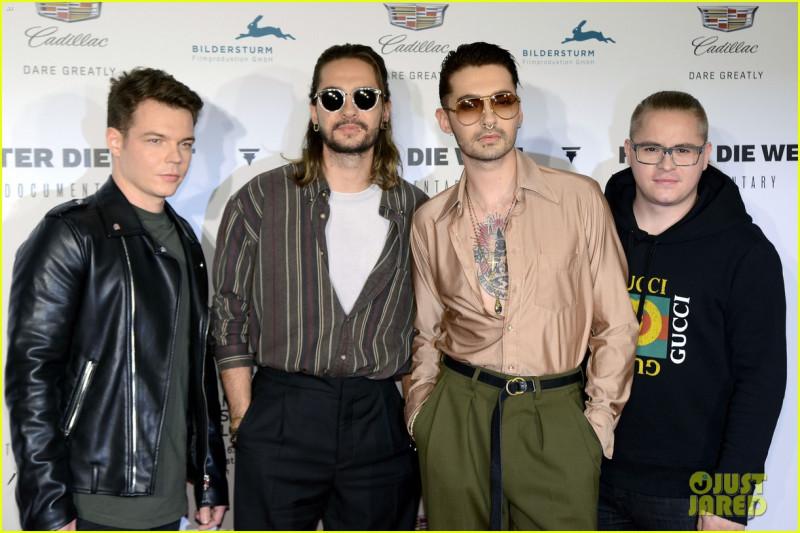Группа Tokio Hotel на кинофестивале