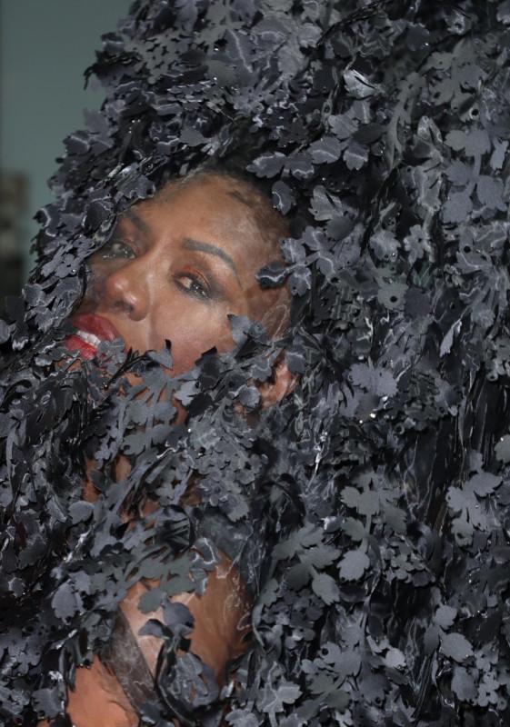 Грейс Джонс на премьере фильма