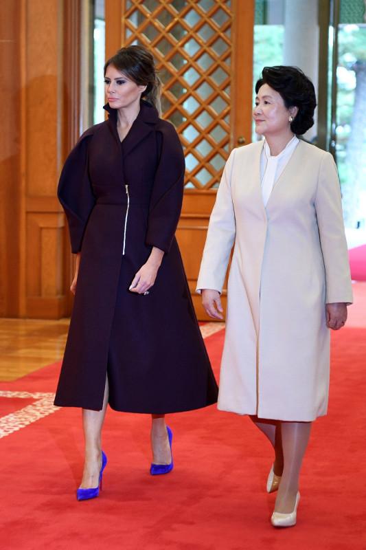 Дональд и Мелания Трамп в Азии