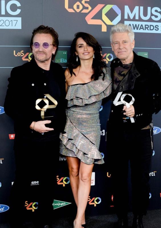 Звезды на церемонии Los 40 Music Awards