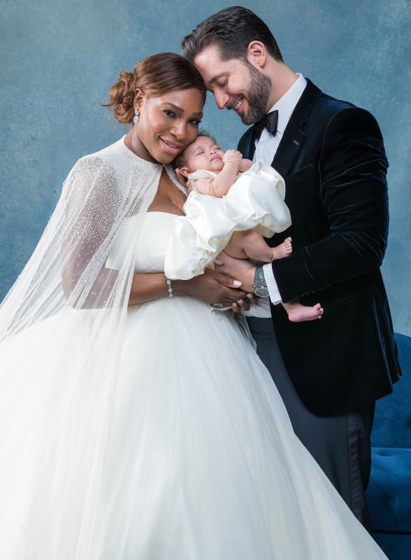 Серена Уильямс вышла замуж