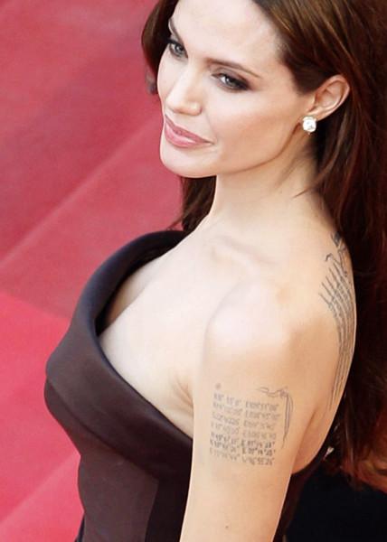 Джоли призналась, что удалила себе обе груди 269480-the-best-of-tattooed-female-celebrities