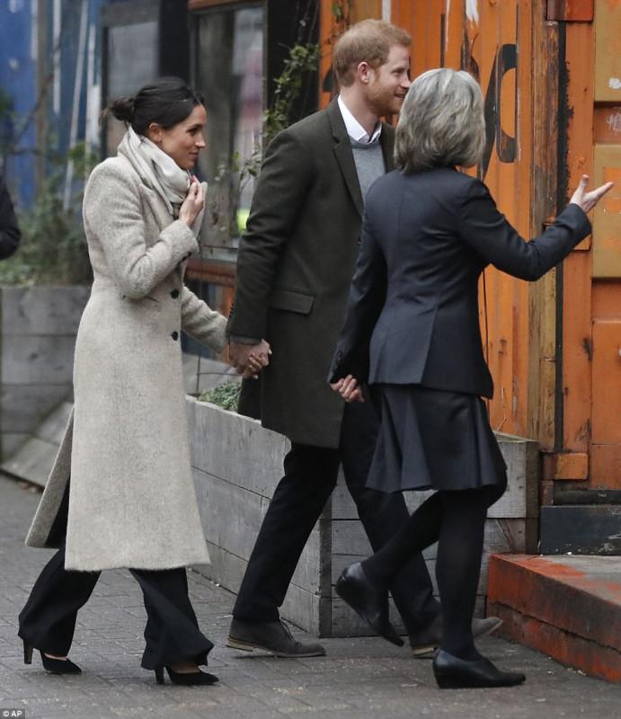 Принц Гарри и Меган Маркл в Брикстоне