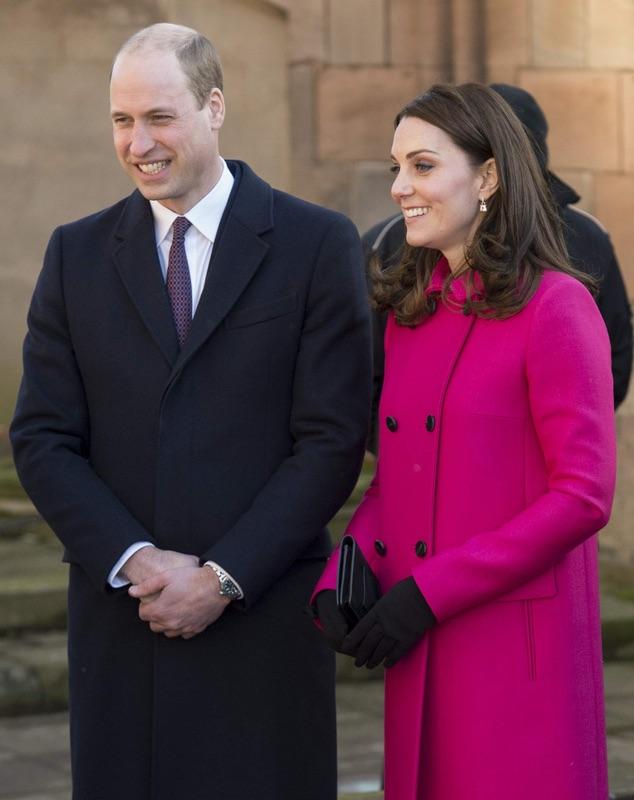 Королевская пара в Ковентри
