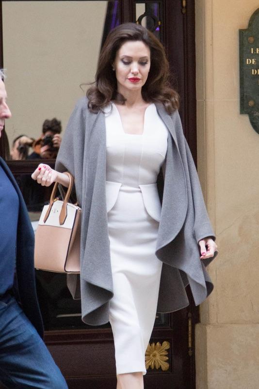 Энджи в Париже Анджелина, Джоли, вторник, Париже