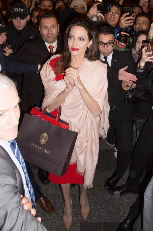 Джоли в Париже