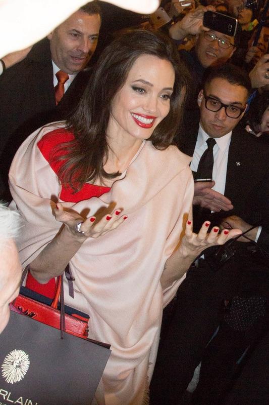 Джоли в Париже Анджелина, Джоли, Париже