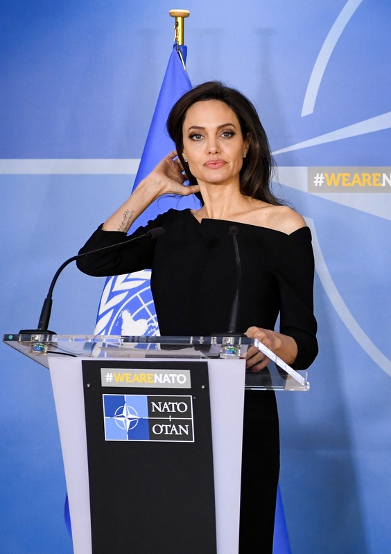 Анджелина Джоли выступила в НАТО