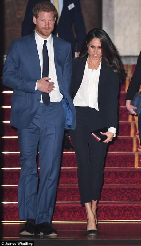 Принц Гарри и Меган Маркл на премии Endeavour Fund Awards