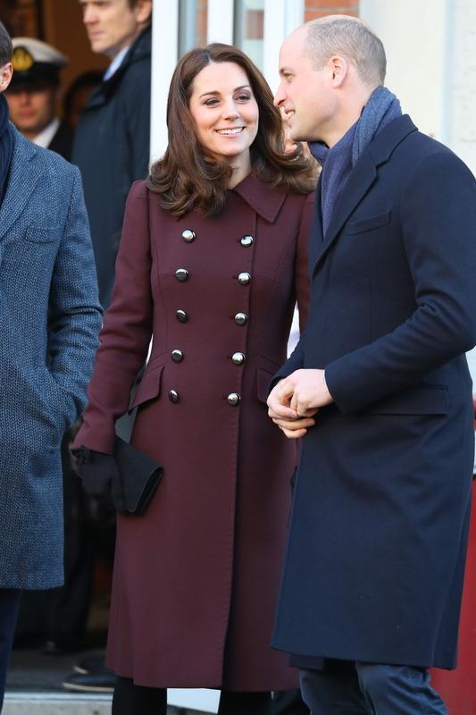 Герцог и герцогиня Кембриджские в Осло