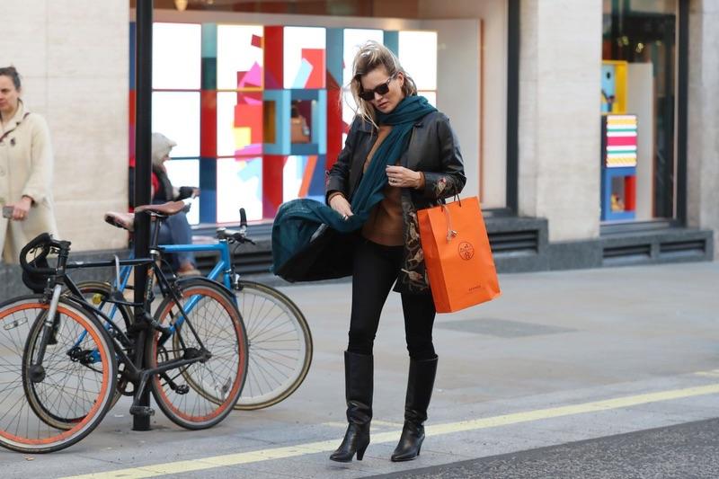 Кейт Мосс в Лондоне