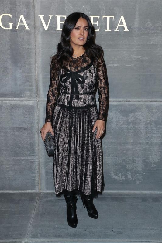 Звезды на модном показе Bottega Veneta в НЙ