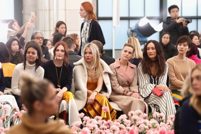 Звезды на модном показе Tory Burch