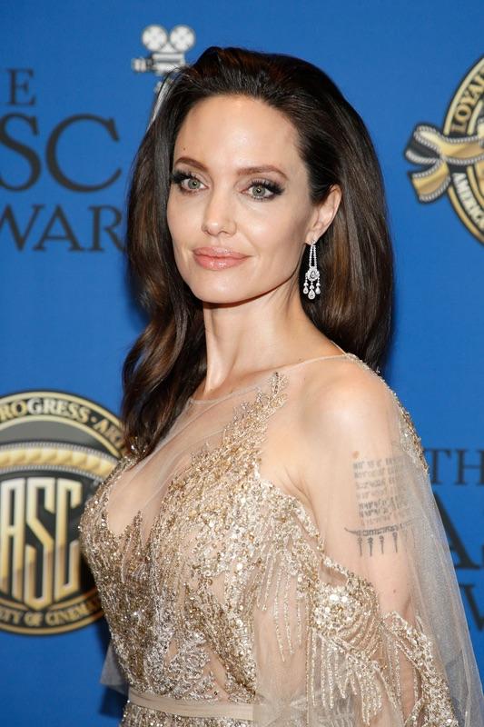 Анджелина Джоли на ASC Awards