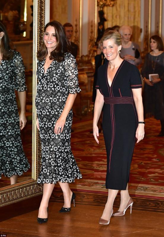 Торжественный прием в Букингемском дворце