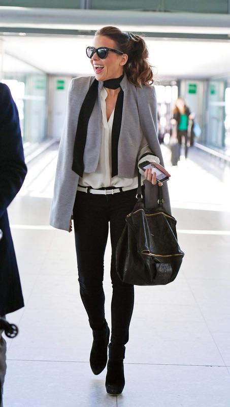 Кэйт Бекинсэйл в Heathrow