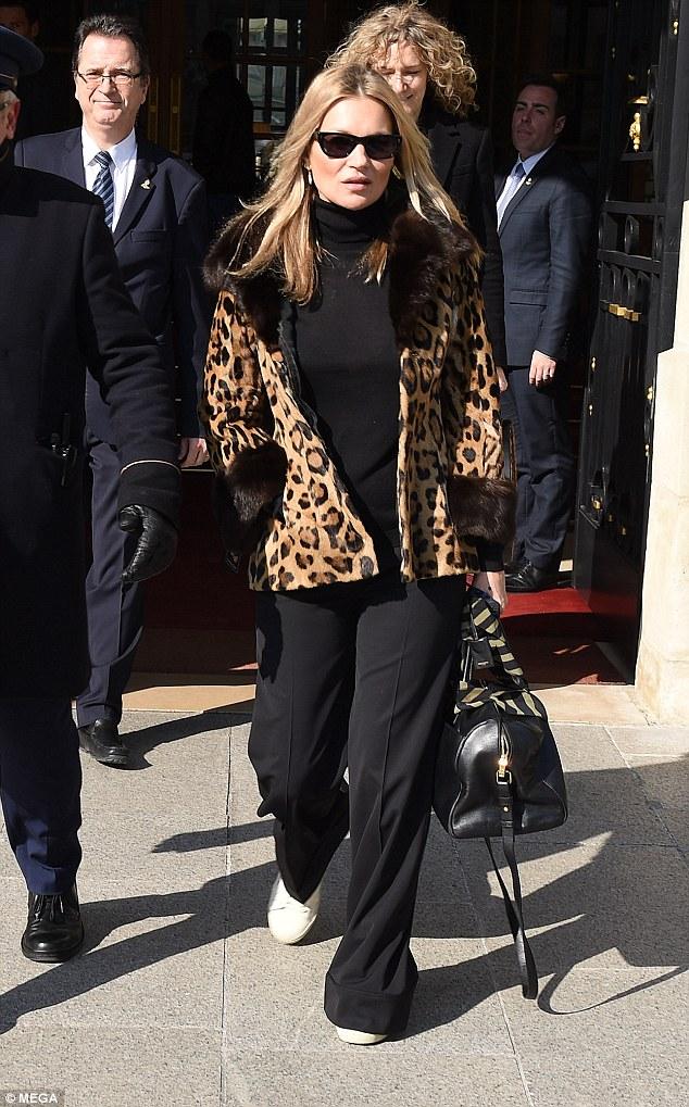 Кейт Мосс в Париже