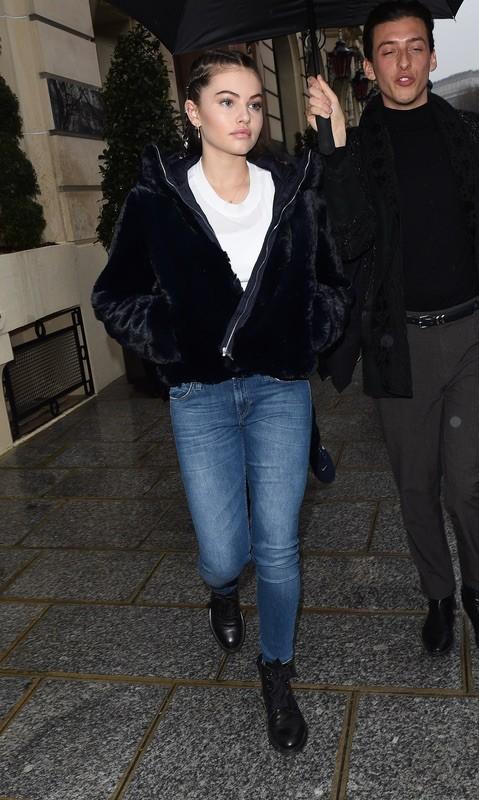 Тилан Блондо в Париже