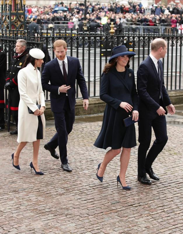 Королевская семья на праздновании Дня Содружества наций
