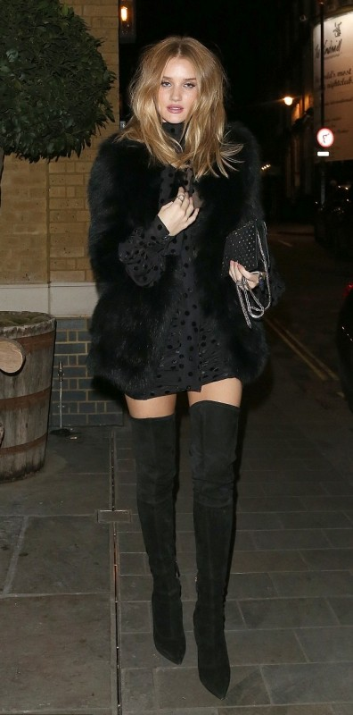 Роузи в Лондоне