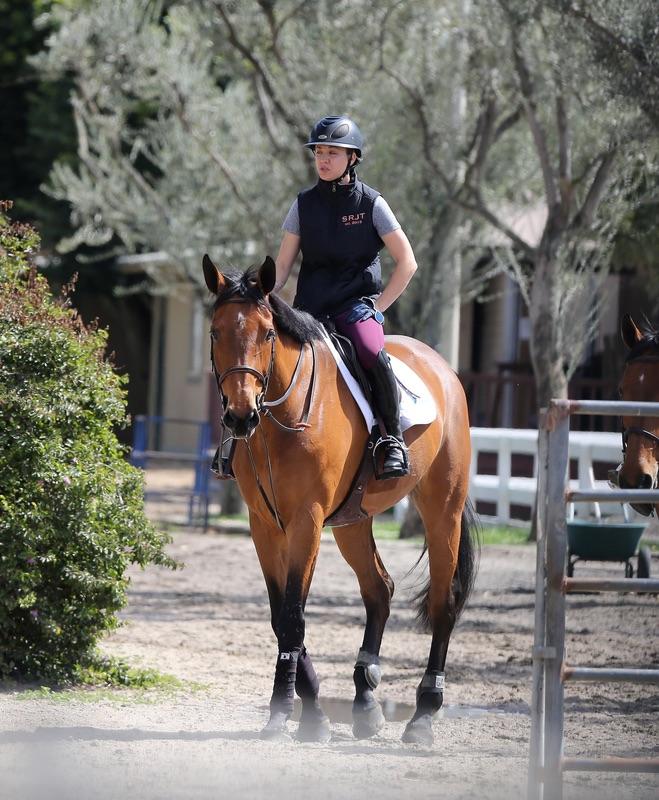 Кейли Куоко на коне