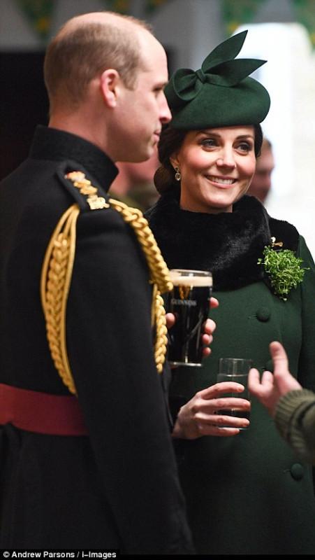 Королевская пара посетили парад в честь Дня святого Патрика