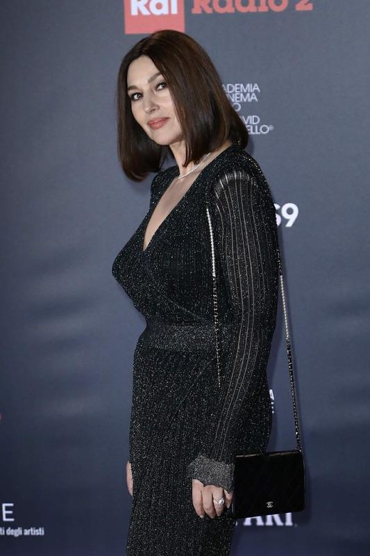 Моника Беллуччи на кинопремии в Риме