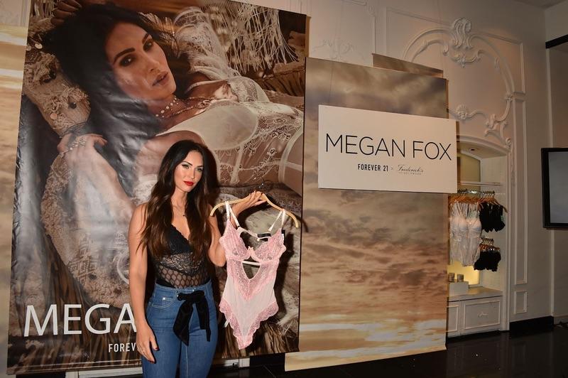 Меган Фокс презентовала коллекцию нижнего белья