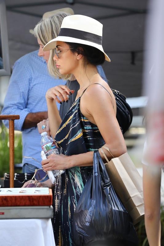 Николь Шерзингер на рынке Николь, Шерзингер, воскресенье, блошином, рынке, Melrose, Trading