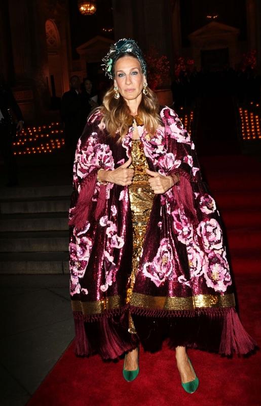 Сара Джессика Паркер на тусовке D&G прошлой, украшений, Джессика, посетила, библиотеке, публичной, Ньюйоркской, прошло, которое, Мероприятие, Gioielleria, ювелирных, неделе, выставки, стартовал, который, марафон, модный, устроили, Дольче