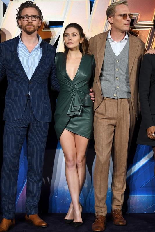 Актеры фильма «Мстители: Война бесконечности» на фан-встрече