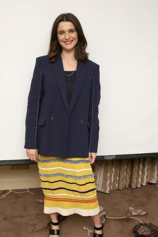 Рэйчел Вайс на пресс-конференции в НЙ