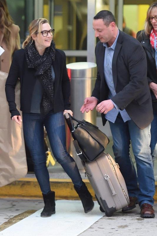 Кейт Уинслет в JFK