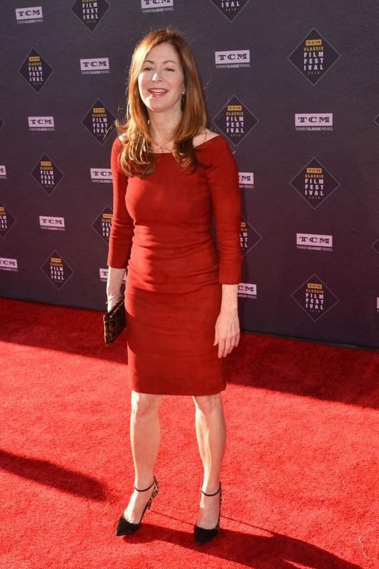 Дана Дилэйни на TCM Classic Film Festival Дилэйни, четверг, посетила, открытие, кинофестиваля, Classic, Festival