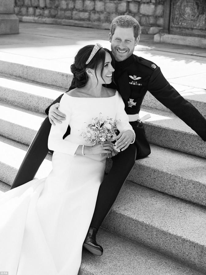 Официальные свадебные фотографии герцога и герцогини Сассекских