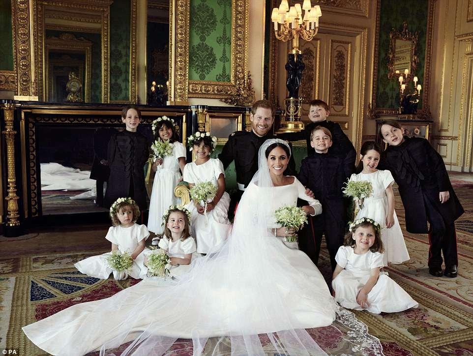Свадьба принца Гарри и Меган Маркл. Фотографии