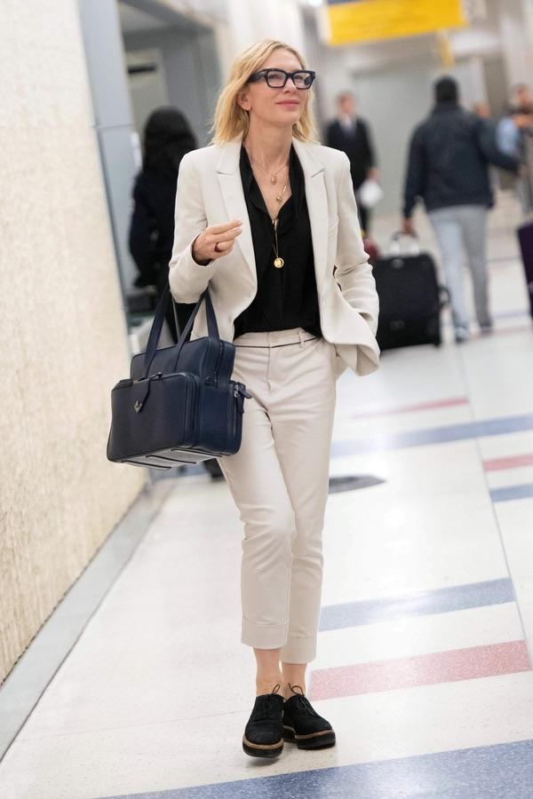 Кейт Бланшетт в JFK