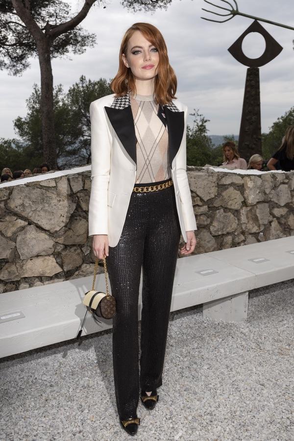 Звезды на модном показе Louis Vuitton