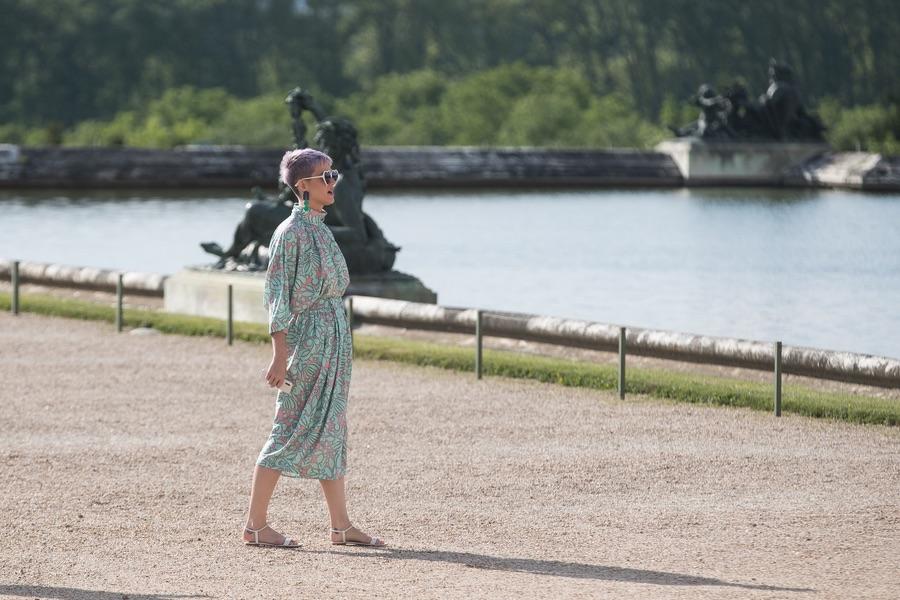 Кэти Перри в Версале Перри, четверг, посетила, Версаль