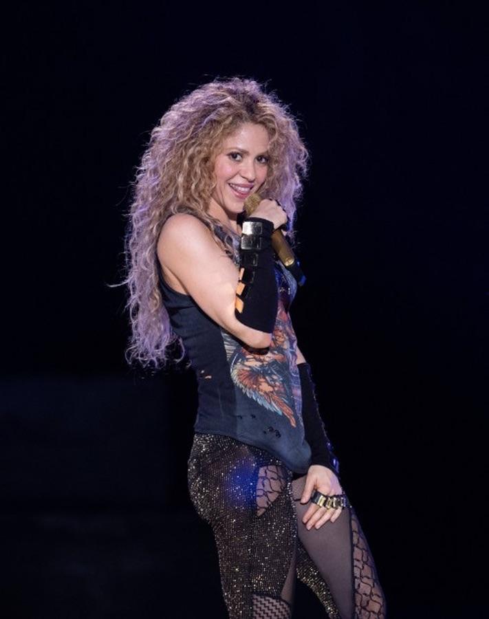 Шакира на сцене