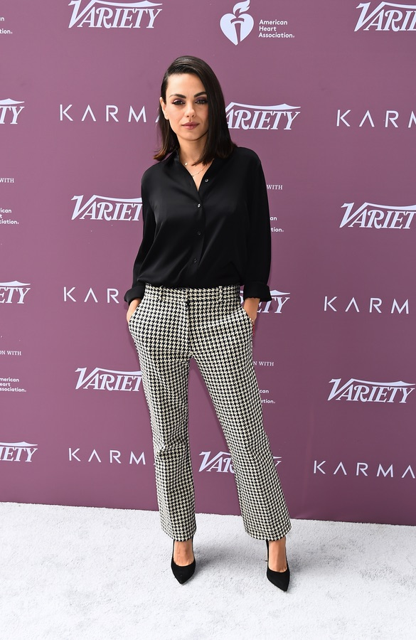 Мила Кунис на саммите Variety
