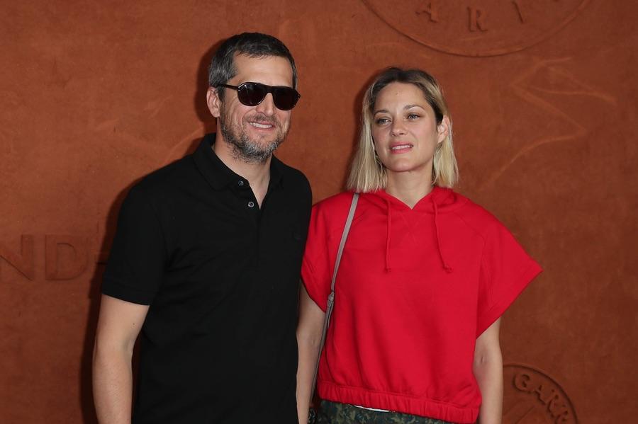 Сладкая парочка на Roland Garros Марион, Котийяр, Гийом, воскресенье, посетили, Открытый, чемпионат, Франции, теннису