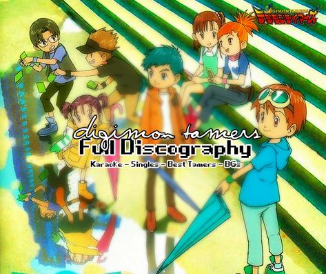Digimon Tamers Full Discography 14355_original