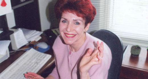 Вероника Черкасова, красивая и улыбающаяся. Фото из открытого доступа.