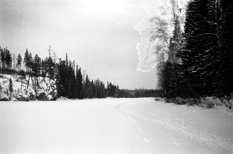 Из этой снежной пустыни Северного Урала дятлоовцам вырваться не удалось. Фото: Гугл.