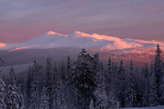 Северный Урал, величавый и красивый. Фото: Гугл.