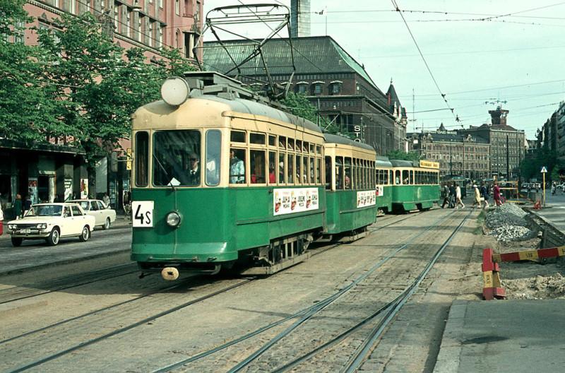 Трамвайчик весело звенит - и это, братцы, Хельсинки. Фото: Гугл.