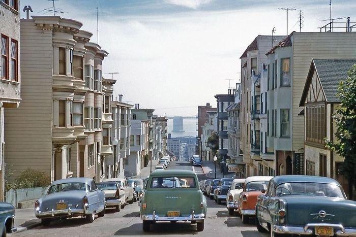 Вот какую страну покинул Освальд - одна из американских картинок из 50-х прошлого века. Фото: Гугл.