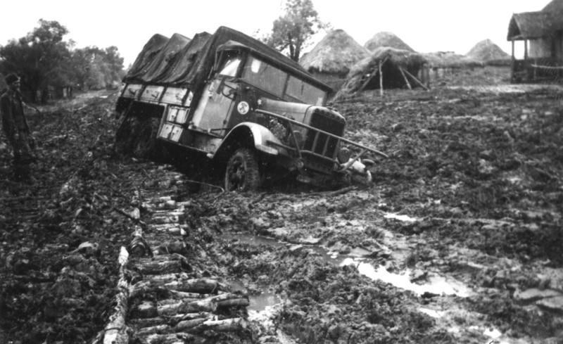 Таким образом могли доставить к линии фронта немецкого агента. Фото: Гугл.