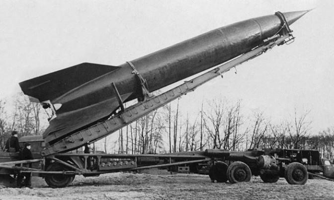 """Немецкое """"оружие возмездия"""". Потом хорошо послужило в советском ракетостроении и космонавтике. Фото: Гугл."""